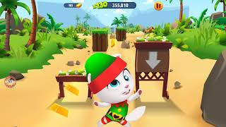 Learn Colors My Talking Tom Gold Run Colours for Kids Animation Education Cartoon Compilation #256