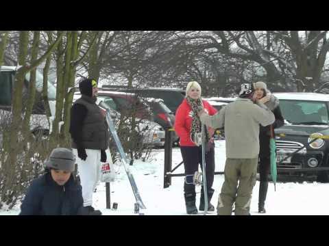 Frimley Green Rec - Snow Jan 2013