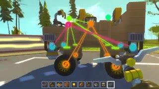 Scrap Mechanic - Learning Basic Things (เรียนรู้การเล่นเบสิค)