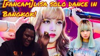 [FANCAM] Lisa BLACKPINK Solo Dance | Bangkok | BLACKPINK REACTION 2019