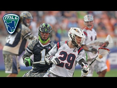 2015 MLL All-Star Game Highlights