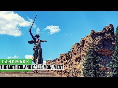 Russia: The Motherland Calls Monument in Volgograd