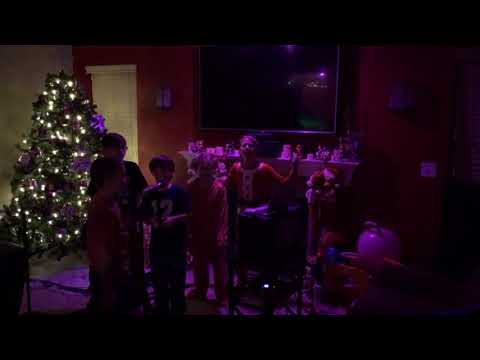 2017 New Year's Eve kids karaoke