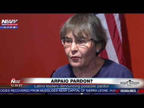 LIVE: Possible Arpaio Pardon, Trump On Infrastructure, Meat Cutting Competition