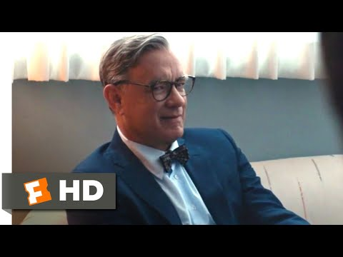 A Beautiful Day in the Neighborhood (2019) - Mr. Rogers Comes to Visit Scene (9/10) | Movieclips
