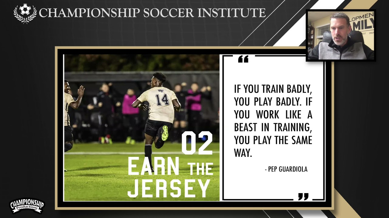 "Bobby Muuss' ""Earn the Jersey"" Philosophy in His Soccer Program!"
