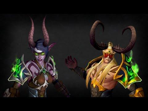 World of Warcraft - За Какого Охотника на Демонов Играть?