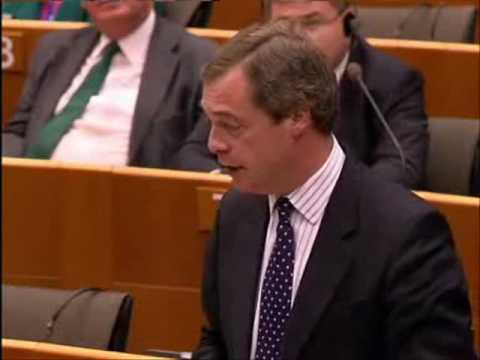 EU's central economic 10-year plan will fail again - Nigel Farage MEP