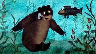 Гора самоцветов - Все серии про медведей - сборник  - развивающий  мультфильм
