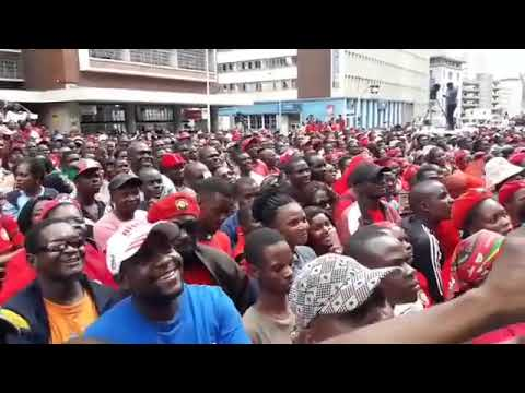 The moment Nelson Chamisa assumes MDC-T leadership