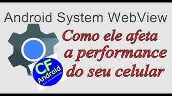 Android System WebView (Desativar,Forçar Parada)