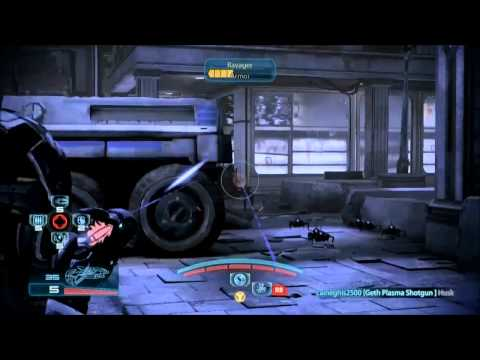 Human Female Engineer GOLD SOLO - LONDON - Mass Effect 3