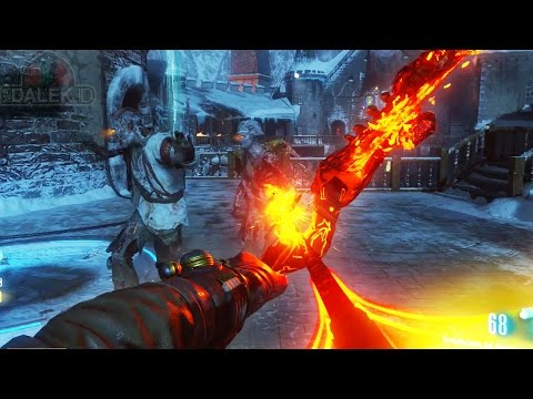 """Black Ops 3 ZOMBIES """"DER EISENDRACHE"""" - FIRE UPGRADED BOW GUIDE! Wrath Of The Ancients Upgrade!"""