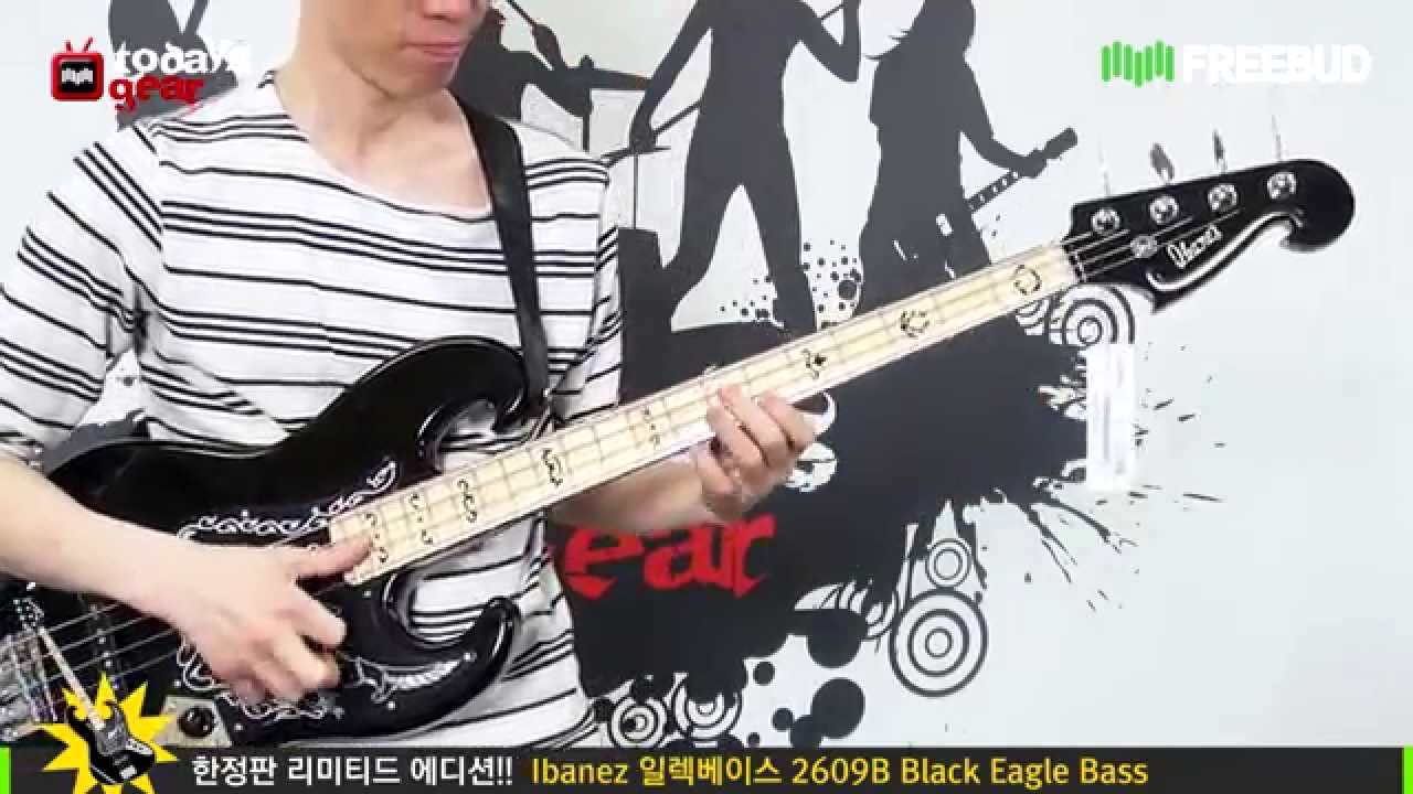 Todaysgear Ibanez 2609b Black Eagle Bass Youtube