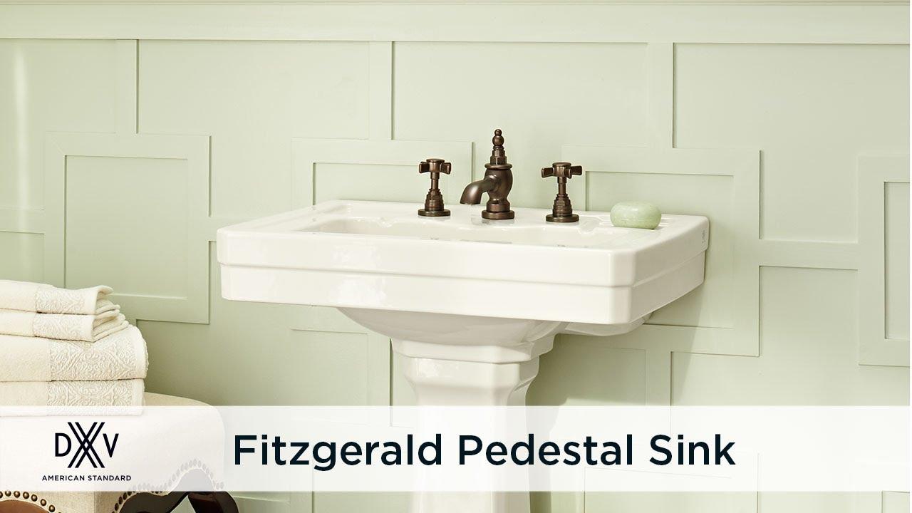 fitzgerald 24 inch pedestal sink
