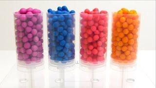 Push Up Cake Pops Surprise Play-doh Dippin Dots Toys Fun