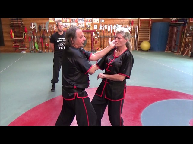 Grandmaster Walter Toch live with  traditionel Wing Chun