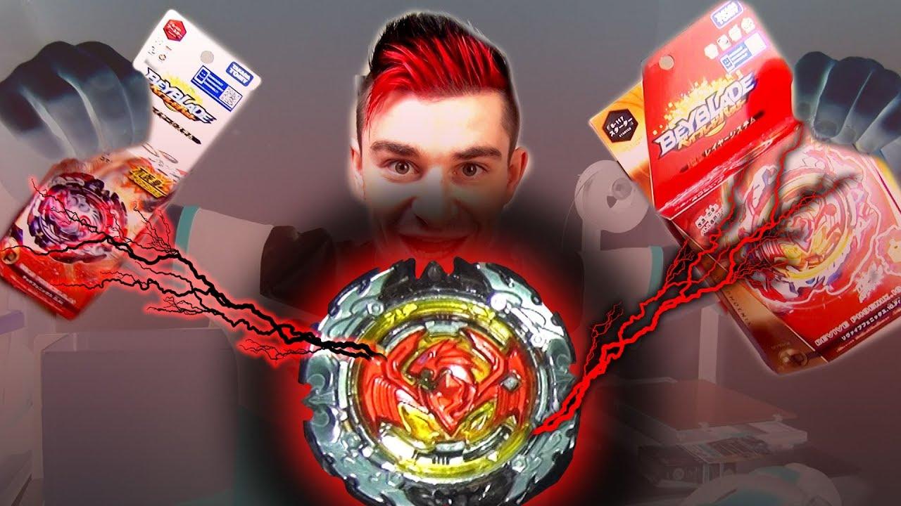 Le Phoenix Parfait Dead Revive Beyblade Burst Cho Z Takara