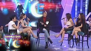 GGV: Angeline, KZ, Yeng, & Kyla sing each other