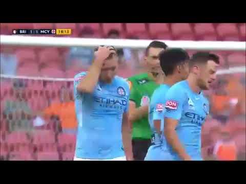Download Brisbane Roar vs Melbourne City, all goals