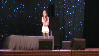 brooklyn hall singing concrete angel (martina mcbride)