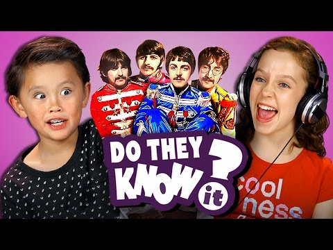 DO KIDS KNOW BEATLES SONGS? REACT: Do They Know It?