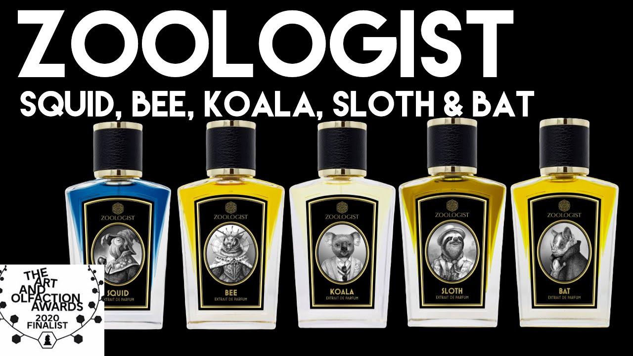 Zoologist  - Squid, Bee, Koala, Sloth and Bat 2020