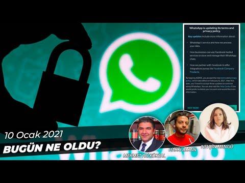 Whatsapp'tan Vaz Geçiyor muyuz? Yeni Sözleşme Tartışmaya Yol Açtı! #WatsAPPsiliyoruz !