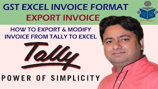 Gst-Rechnung in Excel | Erstellen oder Export der Rechnung in Excel | GST-Rechnung in excel, indem Sie die von Manoj Sir