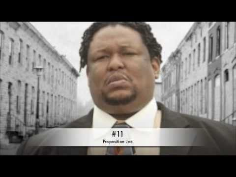 The Wire Top 50 Greatest Characters