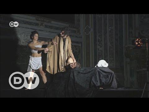 مسرح يعيد تمثيل مشاهد لوحات تاريخية | يوروماكس  - نشر قبل 23 دقيقة