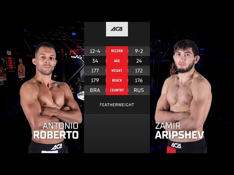 ACA 117: Замир Арипшев vs. Антонио Роберто   Zamir Aripshev vs. Antonio Roberto