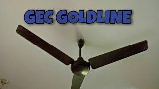 GEC Goldline 48 inches Vintage ceiling fan