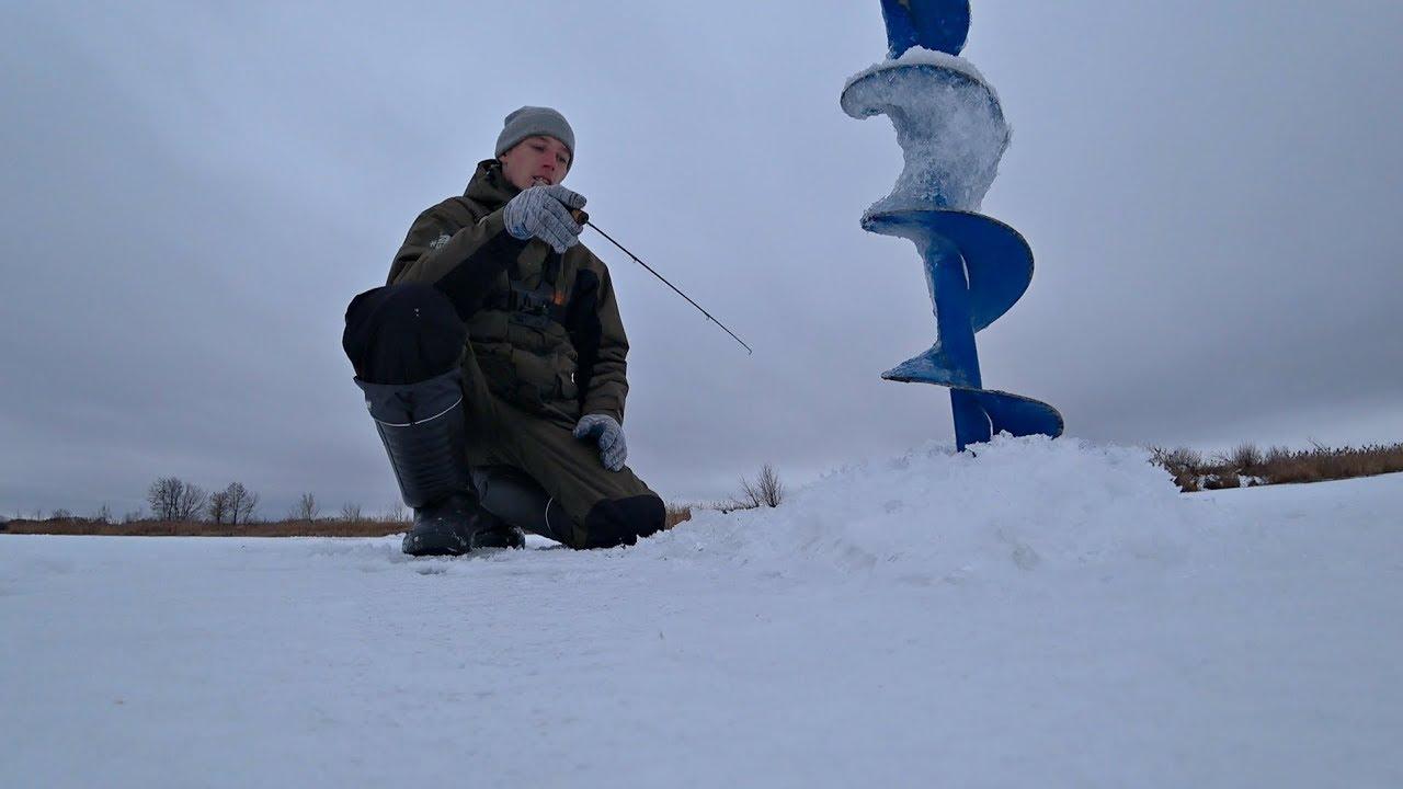 Ловля Щуки в Январе 2020. Зимняя рыбалка на реке.