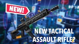 NEW TACTICAL ASSAULT RIFLE UPDATE !!! - Road to Tier 100 -  Fortnite Battle Royale