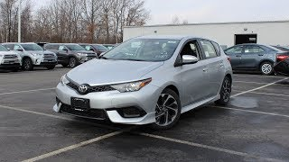 2018 Toyota Corolla iM: In Depth First Person Look