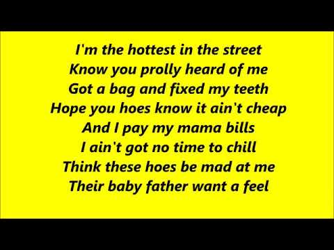 Cardi B - Bodak Yellow *Lyrics*