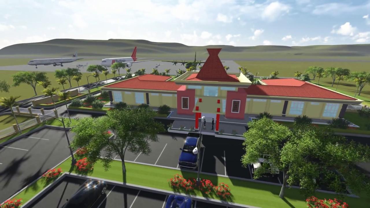 Gedung Ruang Tunggu Vip Bandara El Tari Kupang Youtube