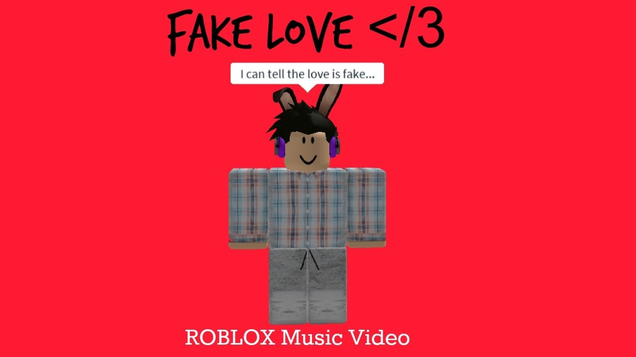 Fake Love [SHORT ] ROBLOX music video|Kit Cat