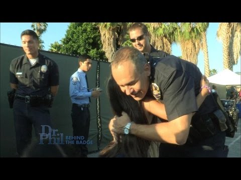 Follow Dr. Phil Cameras As They Join LAPD's Hollywood Division Police Department For National Nig…