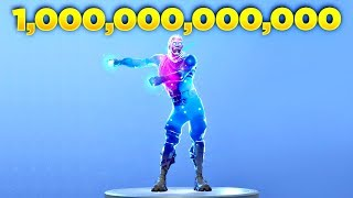 I Played Floss Dance in Fortnite Over 1 Trillion Times with Galaxy Skin and This Happened...