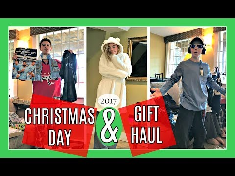 CHRISTMAS DAY & GIFT HAUL 2017