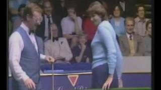 Download Video Dennis Taylor Funny Snooker Exhibition Trick Shots 1984 MP3 3GP MP4