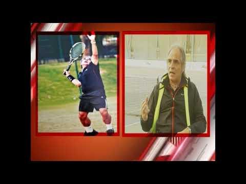 Lawn Tennis Champion Rasheed Malik in PTV Program کسب کمال with Imran Mir
