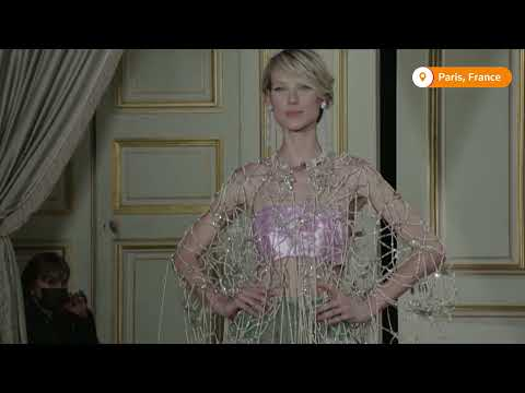 Armani dazzles with elegance in Paris couture show