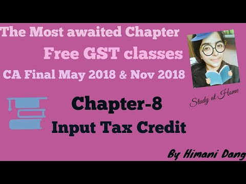"Chapter-8 "" Input Tax Credit "" Section 17, Rule 42 of CGST Rules (Part-2)"