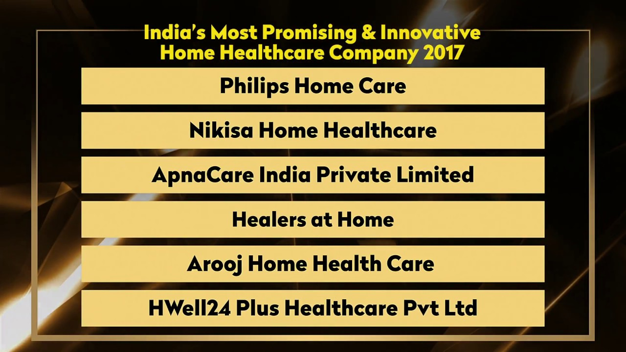 india s most promising innovative home healthcare company 2017