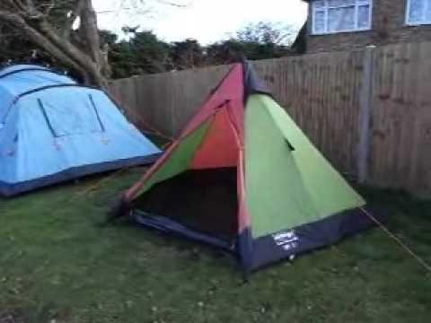 & Vango Juno Tepee 300 3 Person Tipi Tent -Green - YouTube