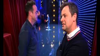 Britains got Talent rc Plane Simon tooley on Stage with Stephe…