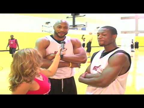 Dwayne Wade fitness and Alonzo Mourning Diet and Workout Interview with Jessie Alexander